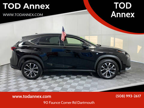 2017 Lexus NX 200t for sale at TOD Annex in North Dartmouth MA