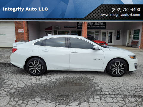 2020 Chevrolet Malibu for sale at Integrity Auto LLC - Integrity Auto 2.0 in St. Albans VT