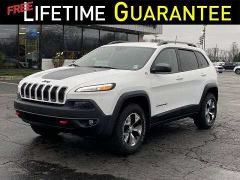 2018 Jeep Cherokee for sale at Vicksburg Chrysler Dodge Jeep Ram in Vicksburg MI