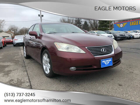 2008 Lexus ES 350 for sale at Eagle Motors in Hamilton OH
