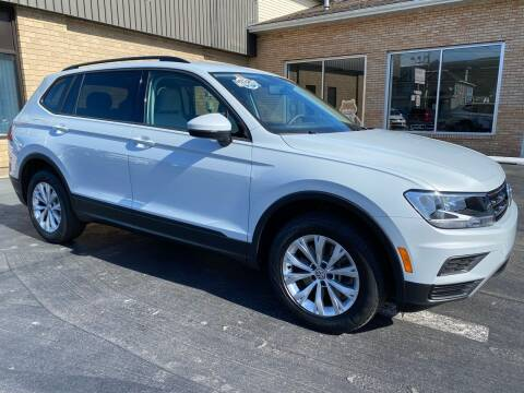 2018 Volkswagen Tiguan for sale at C Pizzano Auto Sales in Wyoming PA