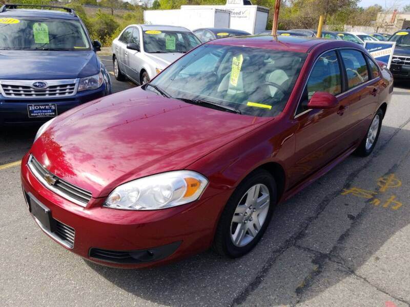 2011 Chevrolet Impala for sale at Howe's Auto Sales in Lowell MA