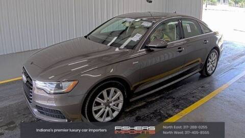 2012 Audi A6 for sale at Fishers Imports in Fishers IN