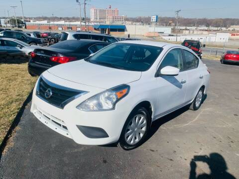2017 Nissan Versa for sale at Capital Mo Auto Finance in Kansas City MO