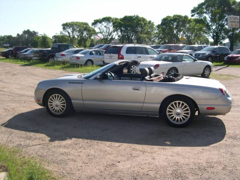 2004 Ford Thunderbird for sale at D & T AUTO INC in Columbus MN