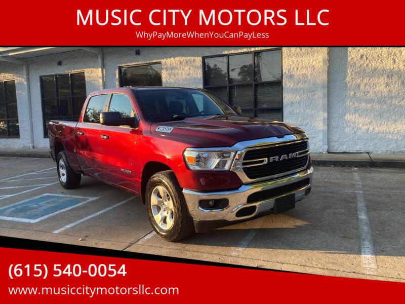 2019 RAM Ram Pickup 1500 for sale at MUSIC CITY MOTORS LLC in Nashville TN