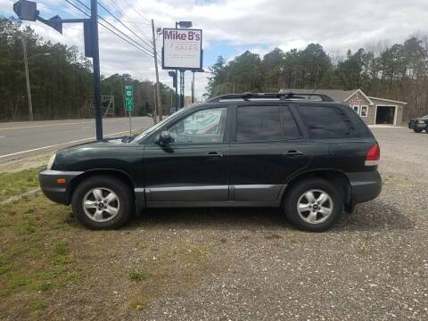 2006 Hyundai Santa Fe for sale at MIKE B CARS LTD in Hammonton NJ