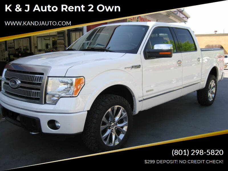 2011 Ford F-150 for sale at K & J Auto Rent 2 Own in Bountiful UT