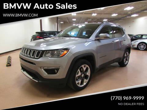 2020 Jeep Compass for sale at BMVW Auto Sales in Union City GA