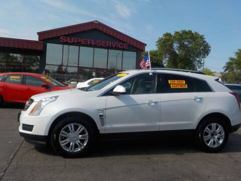 2012 Cadillac SRX for sale at Super Service Used Cars in Milwaukee WI