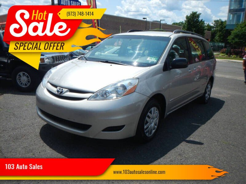 2008 Toyota Sienna for sale at 103 Auto Sales in Bloomfield NJ