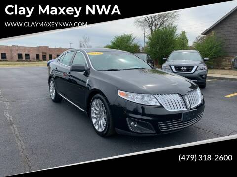 2010 Lincoln MKS for sale at Clay Maxey NWA in Springdale AR