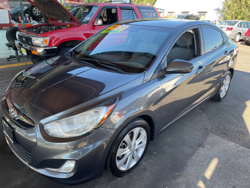 2012 Hyundai Accent for sale at Low Auto Sales in Sedro Woolley WA