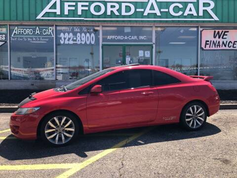 2011 Honda Civic for sale at Afford-A-Car in Dayton/Newcarlisle/Springfield OH