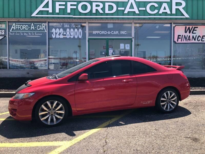 2011 Honda Civic for sale at Afford-A-Car in Dayton/Newcarlisle/Springfield OH