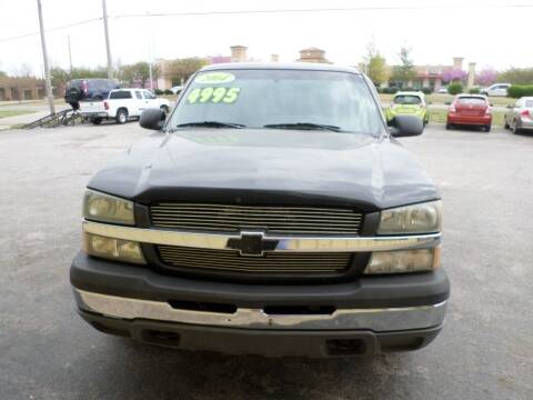 2004 Chevrolet Silverado 1500 for sale at Credit Cars of NWA in Bentonville AR