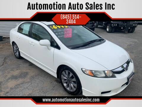 2009 Honda Civic for sale at Automotion Auto Sales Inc in Kingston NY