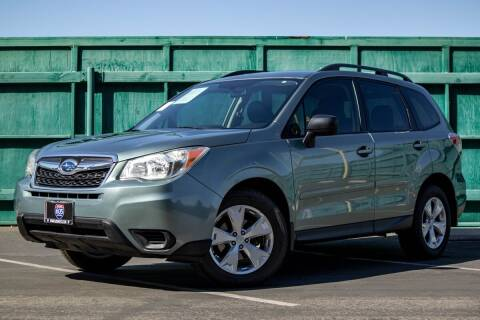 2015 Subaru Forester for sale at 605 Auto  Inc. in Bellflower CA
