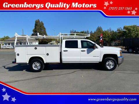2018 Chevrolet Silverado 2500HD for sale at Greenbergs Quality Motors in Napa CA