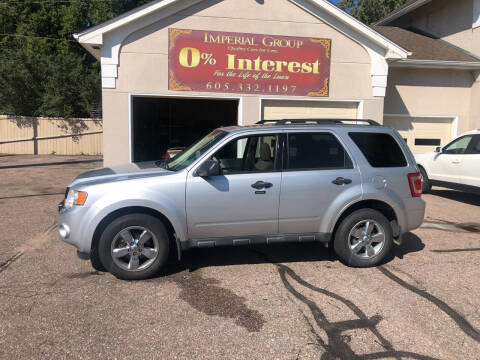 2010 Ford Escape for sale at Imperial Group in Sioux Falls SD