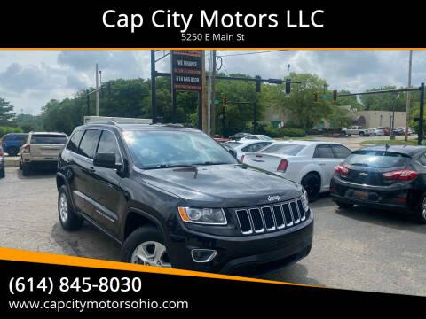 2015 Jeep Grand Cherokee for sale at Cap City Motors LLC in Columbus OH