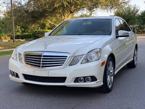 2011 Mercedes-Benz E-Class for sale at Presidents Cars LLC in Orlando FL