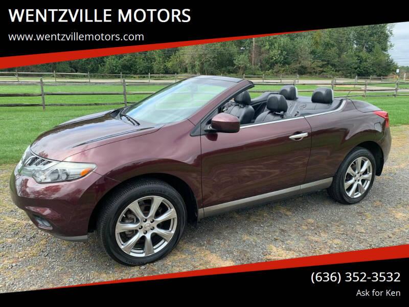 2014 Nissan Murano CrossCabriolet for sale at WENTZVILLE MOTORS in Wentzville MO