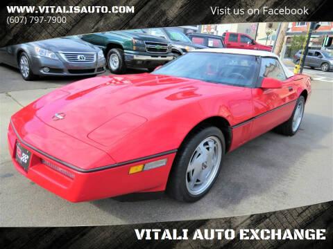 1989 Chevrolet Corvette for sale at VITALI AUTO EXCHANGE in Johnson City NY