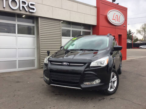 2015 Ford Escape for sale at Legend Motors of Waterford - Legend Motors of Detroit in Detroit MI