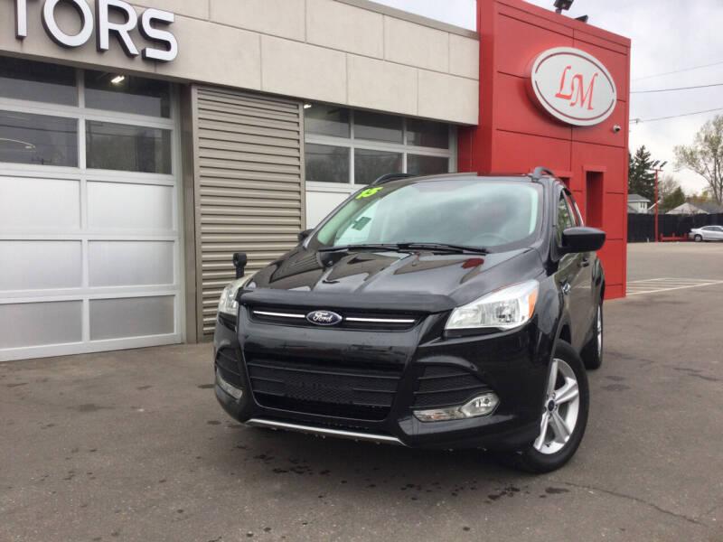 2015 Ford Escape for sale at Legend Motors of Waterford - Legend Motors of Detroit in Detroit MI