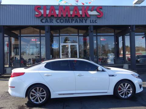 2015 Kia Optima for sale at Siamak's Car Company llc in Salem OR