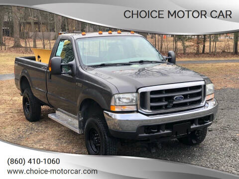 2004 Ford F-250 Super Duty for sale at Choice Motor Car in Plainville CT
