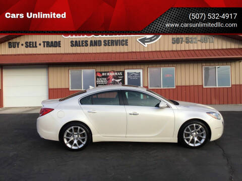 2012 Buick Regal for sale at Cars Unlimited in Marshall MN
