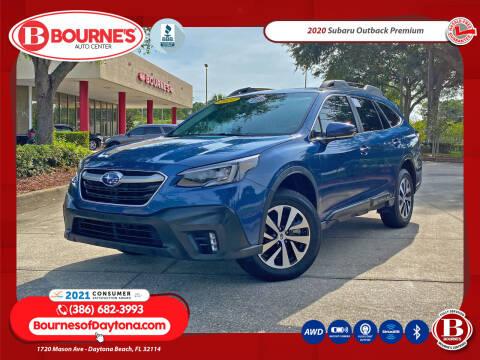 2020 Subaru Outback for sale at Bourne's Auto Center in Daytona Beach FL