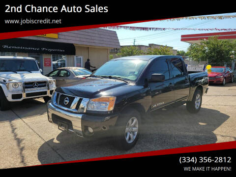 2011 Nissan Titan for sale at 2nd Chance Auto Sales in Montgomery AL
