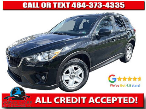 2014 Mazda CX-5 for sale at World Class Auto Exchange in Lansdowne PA