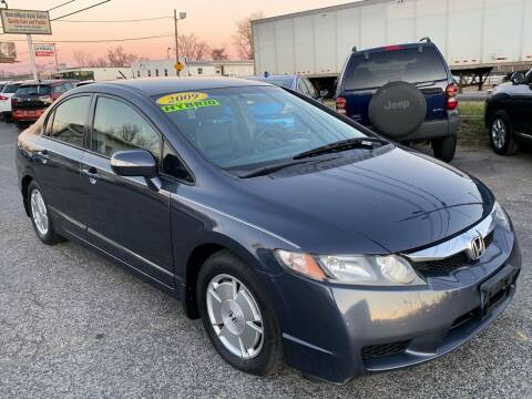 2009 Honda Civic for sale at MetroWest Auto Sales in Worcester MA