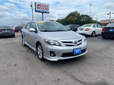 2011 Toyota Corolla for sale at Eagle Motors in Hamilton OH