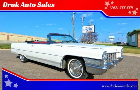1965 Cadillac DeVille for sale at Druk Auto Sales in Ramsey MN