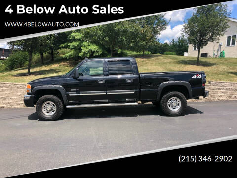 2007 GMC Sierra 2500HD Classic for sale at 4 Below Auto Sales in Willow Grove PA