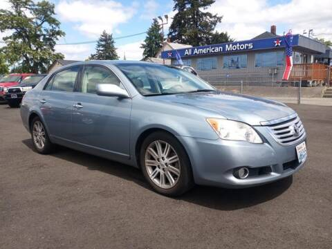 2008 Toyota Avalon for sale at All American Motors in Tacoma WA