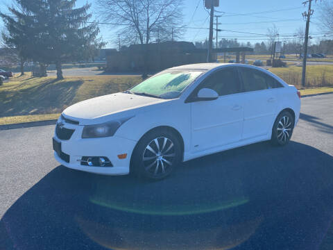2012 Chevrolet Cruze for sale at Augusta Auto Sales in Waynesboro VA