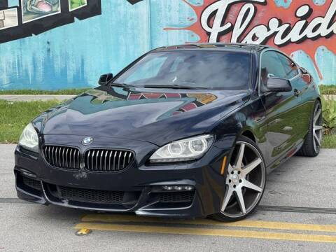 2012 BMW 6 Series for sale at Palermo Motors in Hollywood FL