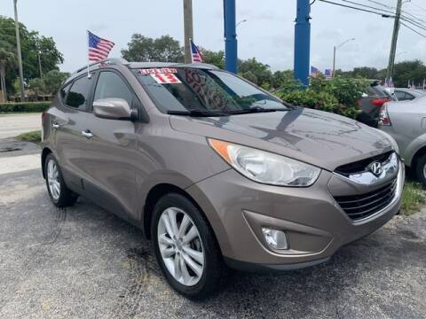 2013 Hyundai Tucson for sale at AUTO PROVIDER in Fort Lauderdale FL
