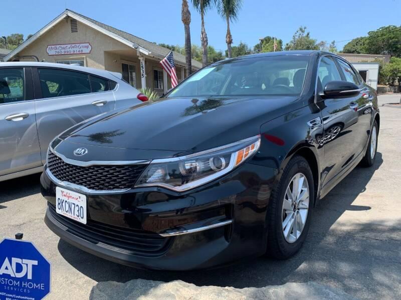 2016 Kia Optima for sale at North Coast Auto Group in Fallbrook CA