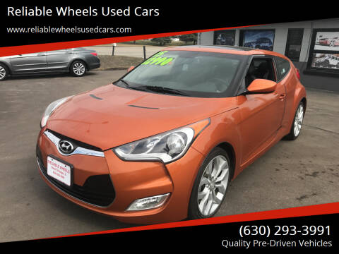 2015 Hyundai Veloster for sale at Reliable Wheels Used Cars in West Chicago IL