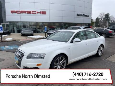 2011 Audi S6 for sale at Porsche North Olmsted in North Olmsted OH