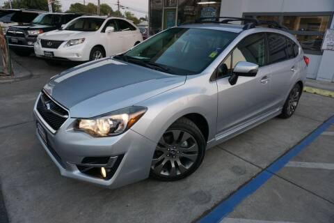 2015 Subaru Impreza for sale at Industry Motors in Sacramento CA