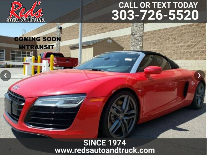 2014 Audi R8 for sale at Red's Auto and Truck in Longmont CO
