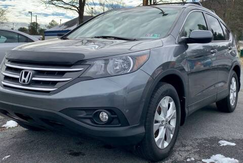 2012 Honda CR-V for sale at K B Motors in Clearfield PA